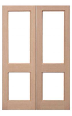 LPD Hemlock Unglazed 2XGG External Door PairsLPD Hemlock Unglazed 2XGG External Door Pairs