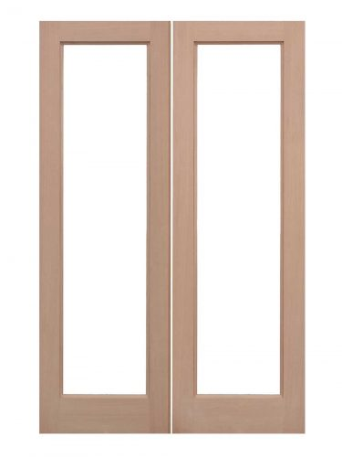 LPD Hemlock Unglazed Pattern 20 External Door Pairs