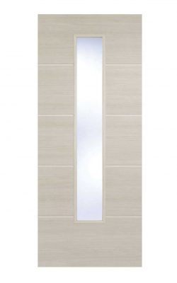 LPD Ivory Laminated Santandor Internal Glazed DoorLPD Ivory Laminated Santandor Internal Glazed Door