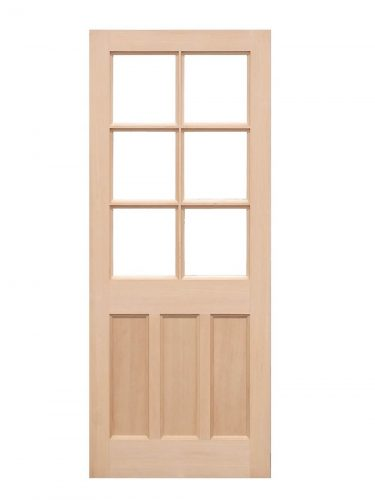 Hemlock KXT door Unglazed