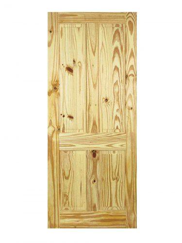 LPD Knotty Pine 4-Panel Internal Door