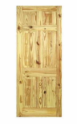 LPD Knotty Pine 6-Panel Internal DoorLPD Knotty Pine 6-Panel Internal Door