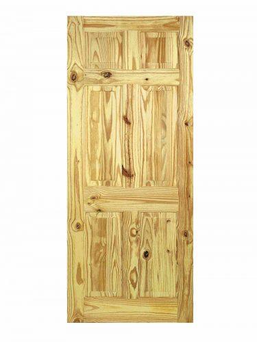 LPD Knotty Pine 6-Panel Internal Door