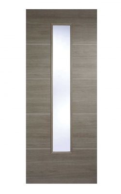 LPD Light Grey Laminated Santandor Internal Glazed DoorLPD Light Grey Laminated Santandor Internal Glazed Door