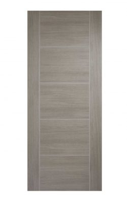 LPD Light Grey Laminated Vancouver Internal DoorLPD Light Grey Laminated Vancouver Internal Door