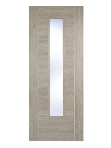 LPD Light Grey Laminated Vancouver Internal Glazed Door