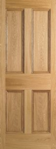 Period Victorian doors Oak-4P
