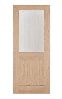 LPD Oak Belize 1L Internal Glazed DoorLPD Oak Belize 1L Internal Glazed Door