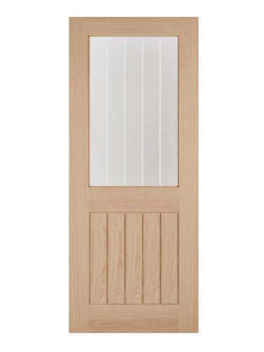 LPD Oak Belize 1L Internal Glazed Door