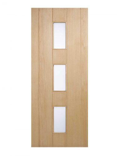 LPD Oak Copenhagen External Glazed Door 3L