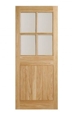 LPD Oak Cottage External Door 4LLPD Oak Cottage External Door 4L