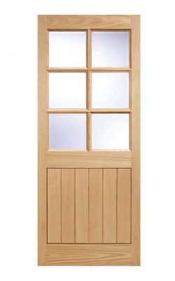 LPD Oak Cottage External Glazed Door 6LLPD Oak Cottage External Glazed Door 6L