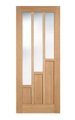 LPD Oak Coventry Internal Glazed Door 3L Pre-FinishedLPD Oak Coventry Internal Glazed Door 3L Pre-Finished