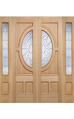 LPD Oak Empress External Glazed DoorLPD Oak Empress External Glazed Door