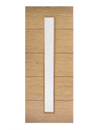LPD Oak Lille Internal Glazed Door 1L