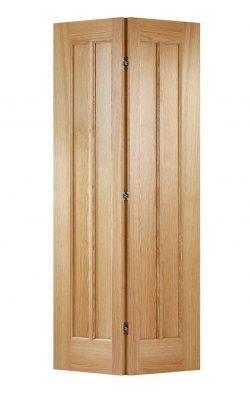LPD Oak Lincoln Pre-Finished Bi-Fold Internal DoorLPD Oak Lincoln Pre-Finished Bi-Fold Internal Door