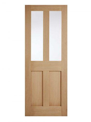 LPD Oak London Internal Glazed Door 2L
