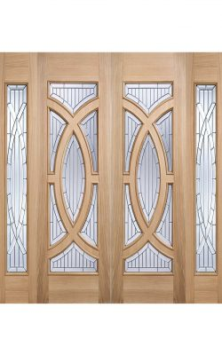 LPD Oak Majestic Sidelight External Glazed Door 1LLPD Oak Majestic Sidelight External Glazed Door 1L