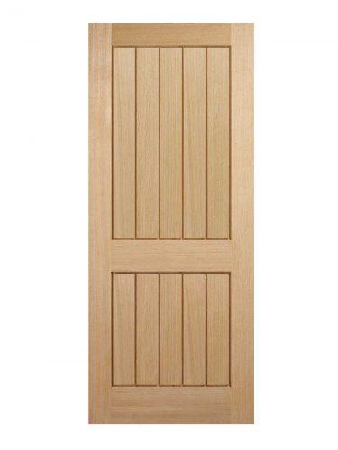 LPD Oak Mexicano 2-Panel Internal Door