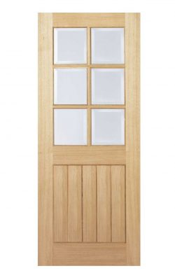 LPD Oak Mexicano 6L Internal Glazed DoorLPD Oak Mexicano 6L Internal Glazed Door