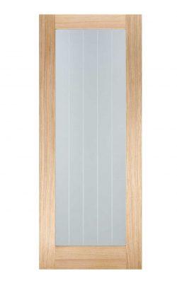 LPD Oak Mexicano Pattern 10 Internal Glazed DoorLPD Oak Mexicano Pattern 10 Internal Glazed Door