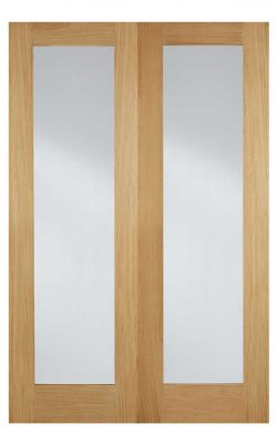 LPD Oak Pattern 20 Internal Glazed Door PairLPD Oak Pattern 20 Internal Glazed Door Pair