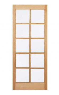 LPD Oak SA Internal Glazed Door 10LLPD Oak SA Internal Glazed Door 10L