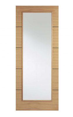 LPD Oak Santandor Internal Glazed DoorLPD Oak Santandor Internal Glazed Door