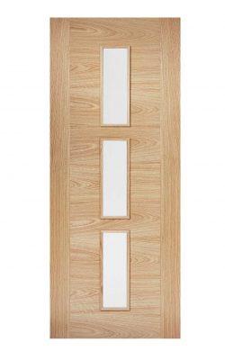 LPD Oak Sofia Internal Glazed Door 3LLPD Oak Sofia Internal Glazed Door 3L