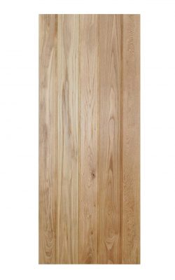 LPD Oak Solid Oak Button Bead Framed & Ledged Internal DoorLPD Oak Solid Oak Button Bead Framed & Ledged Internal Door