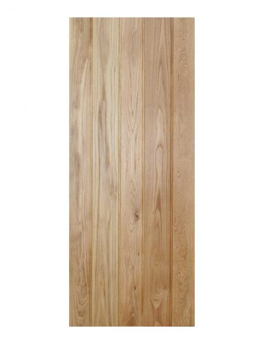 LPD Oak Solid Oak Button Bead Framed & Ledged Internal Door