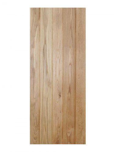 LPD Oak Solid Oak Button Bead Ledged Internal Door