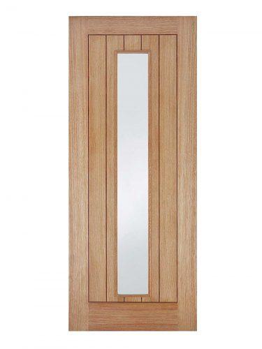 LPD Oak Somerset Internal Glazed Door 1L