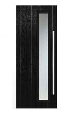 LPD Shardlow Black Glazed GRP External Door SetLPD Shardlow Black Glazed GRP External Door Set