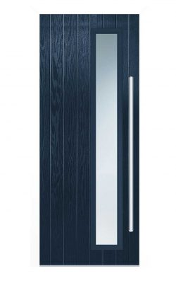 LPD Shardlow Blue Glazed GRP External Door SetLPD Shardlow Blue Glazed GRP External Door Set