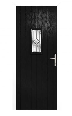 LPD Speedwell Black Glazed External Door SetLPD Speedwell Black Glazed External Door Set