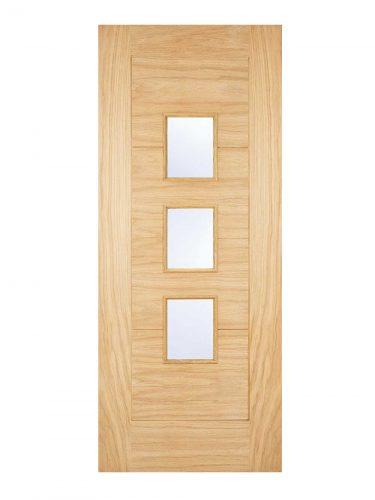 LPD Warmer Door - Part L Arta Oak External Door