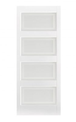 LPD White Contemporary Internal Glazed Door 4LLPD White Contemporary Internal Glazed Door 4L