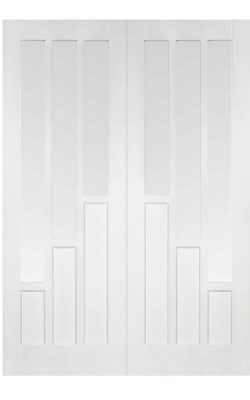 LPD White Coventry Internal Glazed Door PairLPD White Coventry Internal Glazed Door Pair