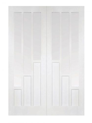 LPD White Coventry Internal Glazed Door Pair