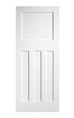 LPD White DX 30s Style Internal DoorLPD White DX 30s Style Internal Door