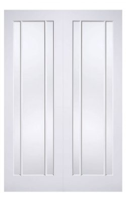 LPD White Lincoln Internal Glazed Door 3L PairLPD White Lincoln Internal Glazed Door 3L Pair