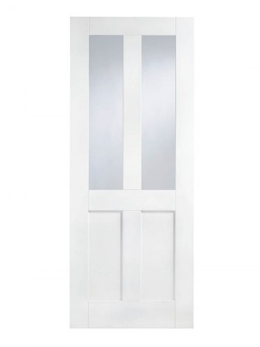 LPD White London Internal Glazed Door 2L