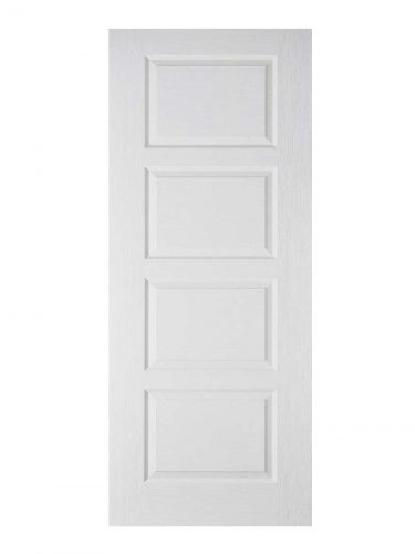 LPD White Moulded Contemporary 4-Panel