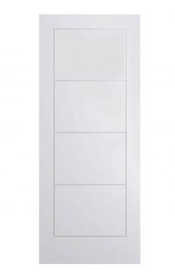 LPD White Moulded Ladder Internal DoorLPD White Moulded Ladder Internal Door