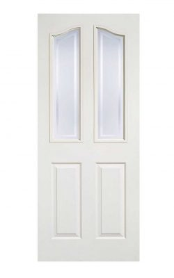 LPD White Moulded Mayfair 2L Internal Glazed DoorLPD White Moulded Mayfair 2L Internal Glazed Door