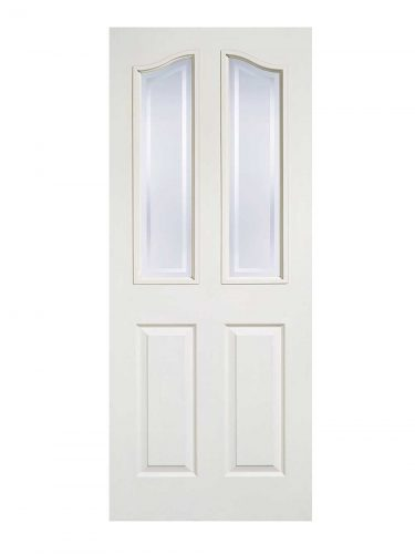LPD White Moulded Mayfair 2L Internal Glazed Door