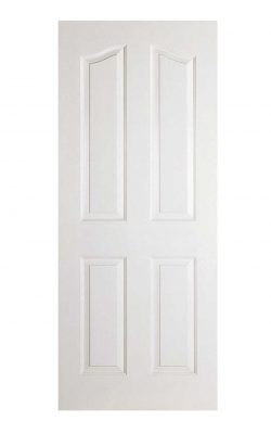 LPD White Moulded Mayfair 4-Panel Internal DoorLPD White Moulded Mayfair 4-Panel Internal Door
