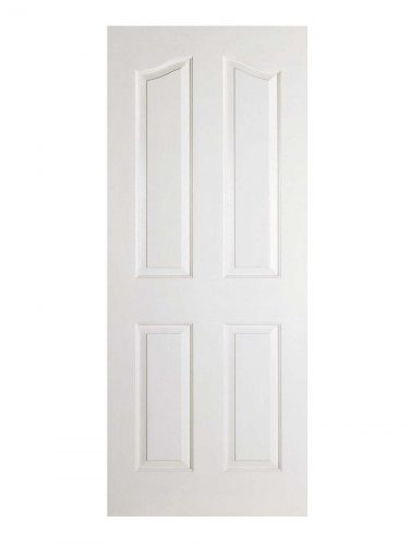 LPD White Moulded Mayfair 4-Panel Internal Door