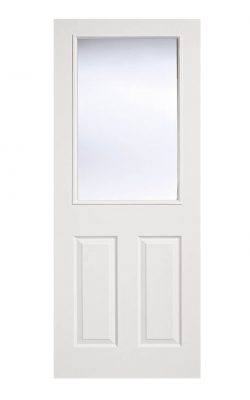 LPD White Moulded Internal Glazed Door 2-Panel 1LLPD White Moulded Internal Glazed Door 2-Panel 1L